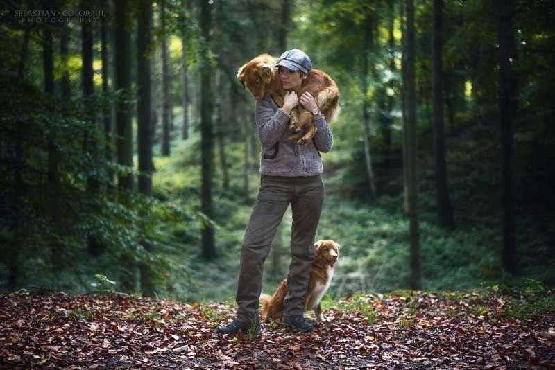 Sebastian Colorful Fotograf mit Hunden